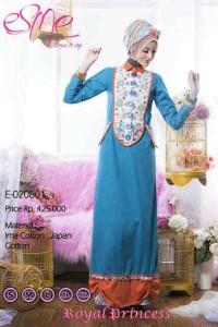 model baju gaun pesta muslim terbaru Pusat-Gamis-Terbaru-Esme-Royal-Princess-Kode-E-020801