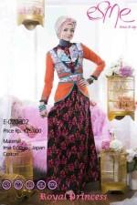 model baju pesta muslim elegan Pusat-Gamis-Terbaru-Esme-Royal-Princess-Kode-E-020802