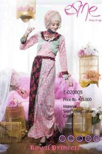 model baju pesta Pusat-Gamis-Terbaru-Esme-Royal-Princess-Kode-E-020805