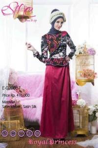model baju pesta muslim modern Pusat-Gamis-Terbaru-Esme-Royal-Princess-Kode-E-020807