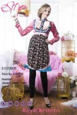 baju pesta panjang Pusat-Gamis-Terbaru-Esme-Royal-Princess-Kode-E-020809