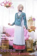 baju pesta muslim wanita Pusat-Gamis-Terbaru-Esme-Royal-Princess-Kode-E-020814