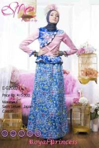 baju pesta wanita online Pusat-Gamis-Terbaru-Esme-Royal-Princess-Kode-E-020821