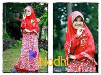 model baju muslim 2014 wanita Pusat-Gamis-Terbaru-Inodhi-Kode-303