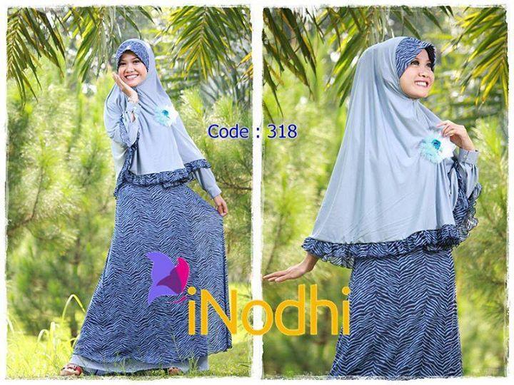 Inodhi Kode 318 Baju Muslim Gamis Modern