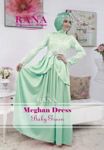 baju pesta yg terbaru Pusat-Gamis-Terbaru-Meghan-Dress-Baby-Green