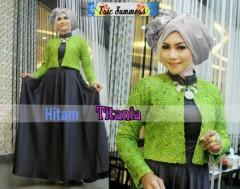 model baju muslimah Pusat-Gamis-Terbaru-Titania-by-Ericsummer-Hitam