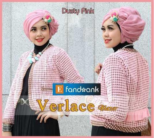 baju pesta online shop Pusat-Gamis-Terbaru-Verlace-by-Efandoank-Dusty-Pink
