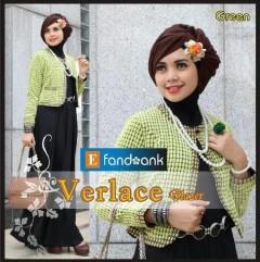 baju pesta pengantin muslim Pusat-Gamis-Terbaru-Verlace-by-Efandoank-Green