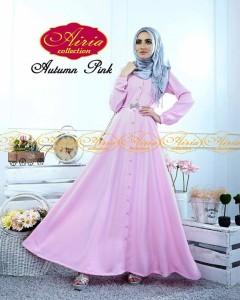model baju yg terbaru Pusat-Gamis-terbaru-Autumn-Dress-Dan-Rain-Koko-Pink