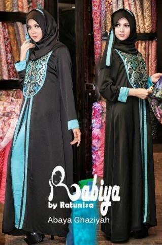 baju pesta muslim wanita Pusat-Gamis-Terbaru-Abaya-Ghaziyah-by-Rabiya