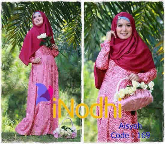 baju pesta hijab Pusat-Gamis-Terbaru-Aisyah-By-Inodhi-Kode-169
