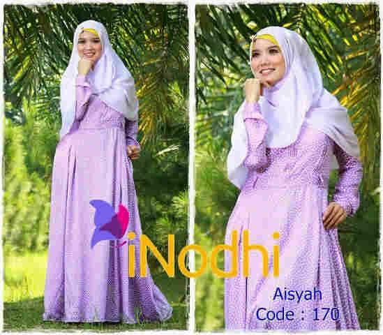 baju pesta formal Pusat-Gamis-Terbaru-Aisyah-By-Inodhi-Kode-170