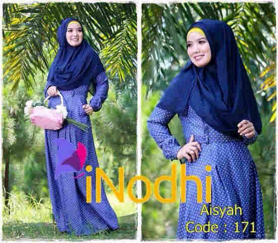 baju pesta elegance Pusat-Gamis-Terbaru-Aisyah-By-Inodhi-Kode-171
