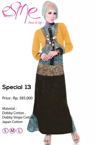 model gaun pesta muslim terbaru Pusat-Gamis-Terbaru-Esme-Special-13