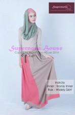 baju pesta wanita modern Pusat-Gamis-Terbaru-Insircla-Ungu-Hijau-mint-Salem
