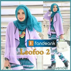 model baju pesta wanita modern Pusat-Gamis-Terbaru-LEOFO-By-Efandoank-Lavender
