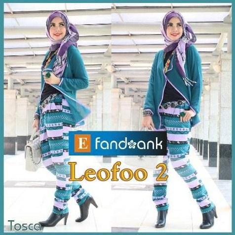 baju pesta wanita muslimah Pusat-Gamis-Terbaru-LEOFO-By-Efandoank-Tosca