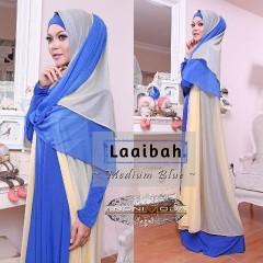 model baju pesta elegan Pusat-Gamis-Terbaru-Laaibah-By-Anonimoda-Blue