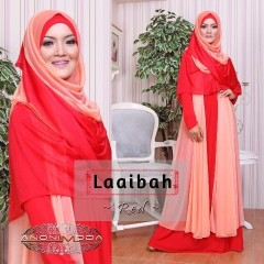 model baju pesta elegant Pusat-Gamis-Terbaru-Laaibah-By-Anonimoda-Red