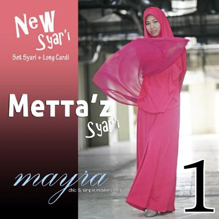baju pesta hijaber Pusat-Gamis-Terbaru-Metta-By-Mayra-Kode-1