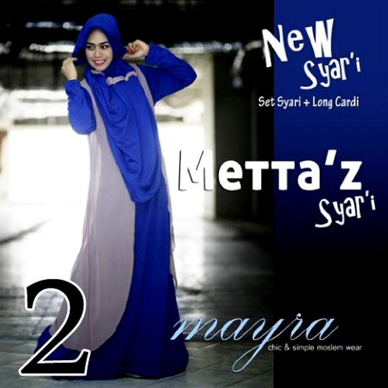 baju pesta elegance Pusat-Gamis-Terbaru-Metta-By-Mayra-Kode-2