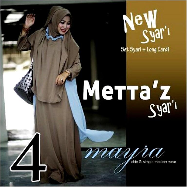 baju pesta pengantin muslim Pusat-Gamis-Terbaru-Metta-By-Mayra-Kode-4