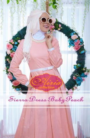 baju pesta wanita dewasa Pusat-Gamis-Terbaru-Sierra-Dress-Baby-Peach