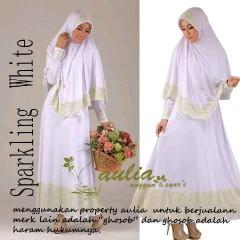 baju pesta muslim terbaru Pusat-Gamis-Terbaru-Sparkling-White-by-Aulia-Hijau-Muda