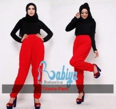 model baju pesta muslim modern Pusat-Gamis-Terbaru-Titania-Pant