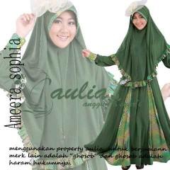 baju pesta dress Pusat-Gamis-terbaru-Ameera-By-Aulia-Green