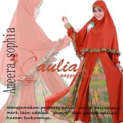 model baju pesta Pusat-Gamis-terbaru-Ameera-By-Aulia-Red