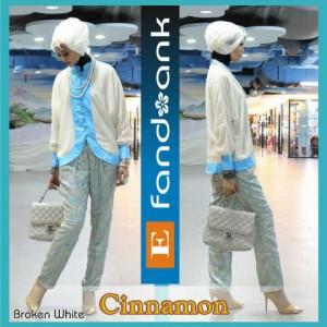baju pesta hijab Pusat-Gamis-terbaru-CINNAMON-By-Efandoank-Broken-White