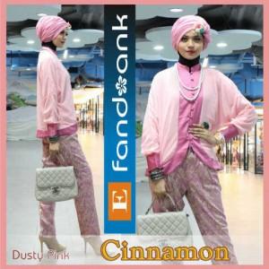 baju pesta formal Pusat-Gamis-terbaru-CINNAMON-By-Efandoank-Dusty-Pink