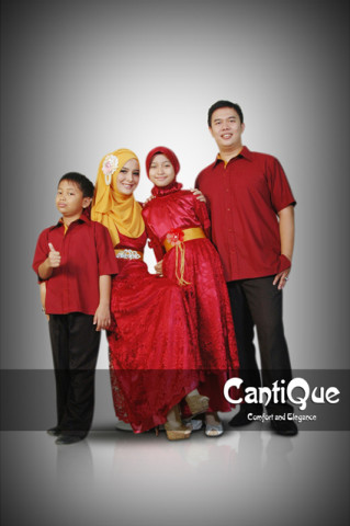 model baju pesta elegant Pusat-Gamis-terbaru-CQ 1418 merah marun