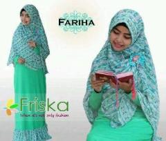 baju pesta resmi model gaun pesta yang elegan Pusat-Gamis-terbaru-Fariha-By-Frishka-Hijau
