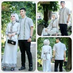 baju pesta hijab Pusat-Gamis-terbaru-Ismail-&-Ghumaisha-Abu-Silver