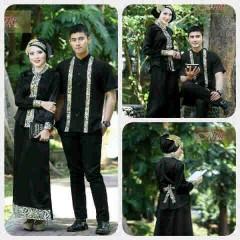 baju pesta online shop Pusat-Gamis-terbaru-Ismail-&-Ghumaisha-Hiitam