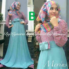 baju pesta muslim wanita Pusat-Gamis-terbaru-Mevius-Dress-By-Kynara-Kode-B