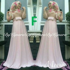 baju pesta wanita online Pusat-Gamis-terbaru-Mevius-Dress-By-Kynara-Kode-F