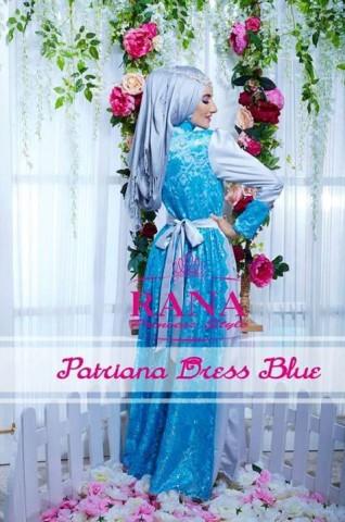 baju pesta wanita online Pusat-Gamis-terbaru-Patriana-Dress-Blue