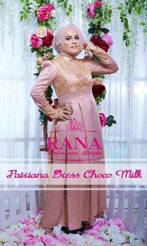 baju pesta yg simple Pusat-Gamis-terbaru-Patriana-Dress-Choco-Milk