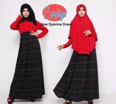 baju pesta islami Pusat-Gamis-terbaru-Rabiya-New-Syavina-Dress
