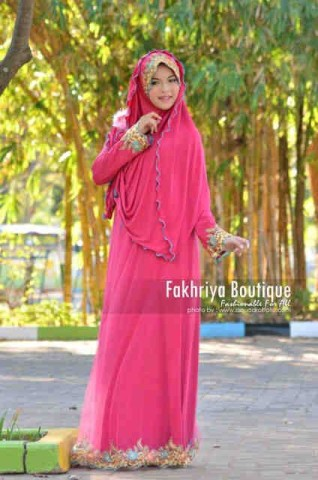 baju pesta fashion pusat-Gamis-terbaru-Salima-By-Fakhriya-Fanta