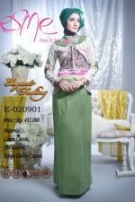 baju muslim terbaru Gamis Terbaru E-020901