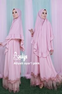 Pusat Gamis Terbaru Atiyah by Rbiya pink