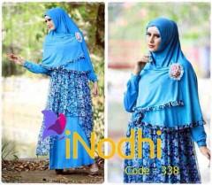 pakaian pesta wanita modern Pusat-Gamis-Terbaru-Inodhi-Kode-338