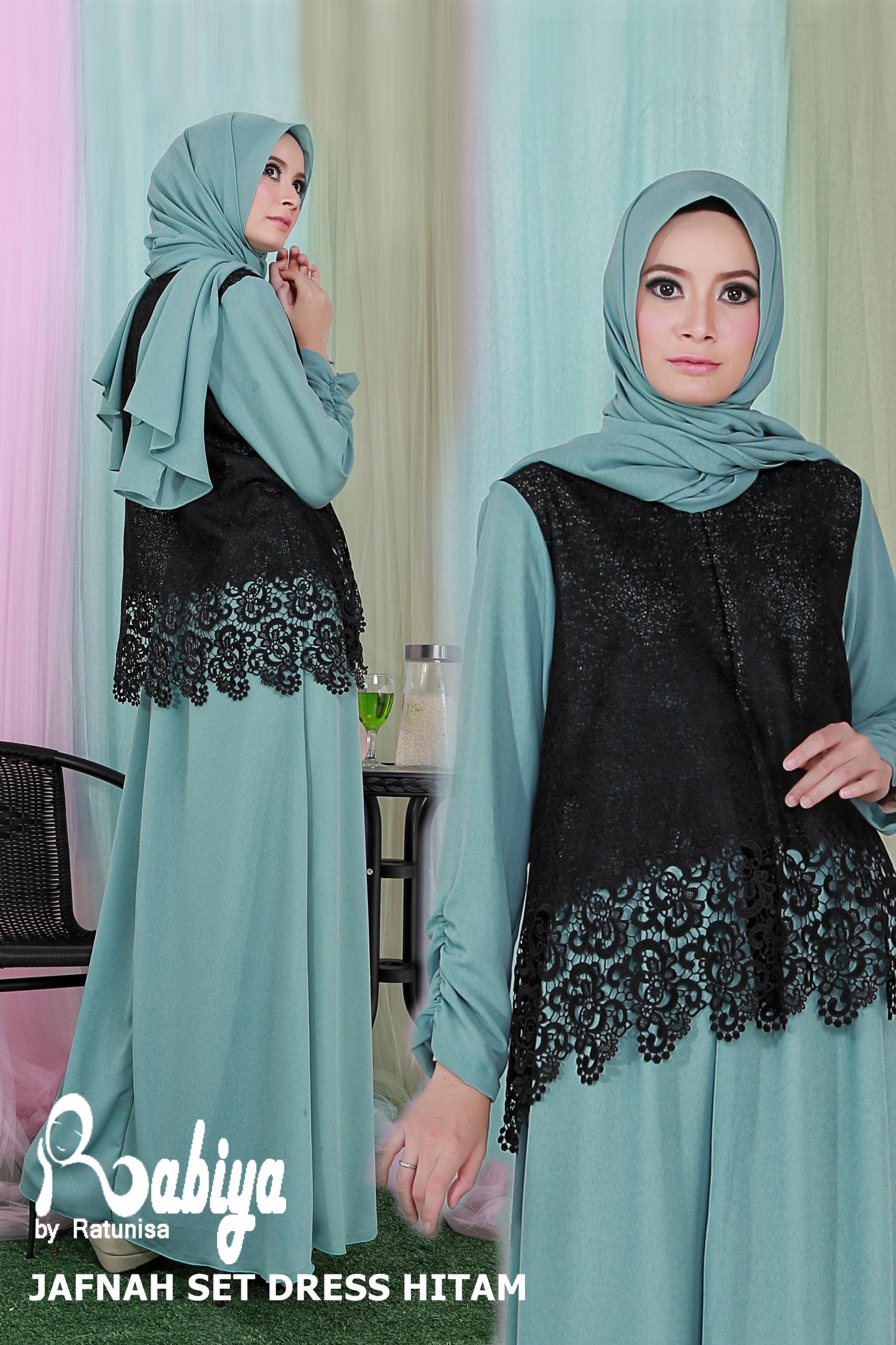 Baju Muslim Wanita Terbaru Mirella Dress Model Terbaru