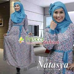 model gaun pesta hijab Pusat-Gamis-Terbaru-Natasya-Motif-By-Frishka-Fashion-biru