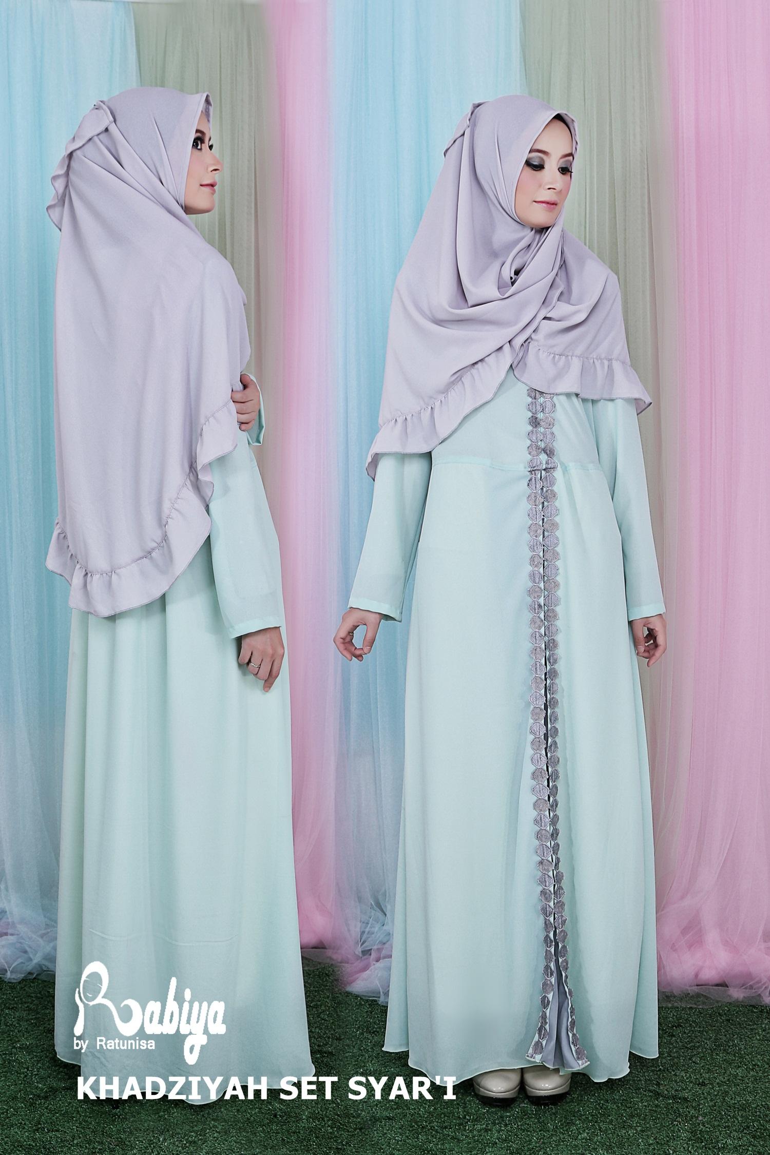 Koleksi Pusat Baju Muslim Gamis Syari Modern Terbaru